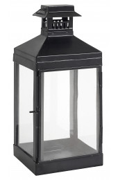 BARN lantern h-30, black metall