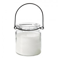ICON Hanging lantern glass with parafine