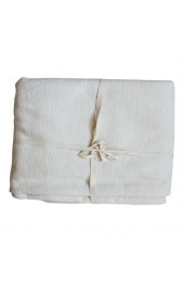 YOGA cotton blanket, natural