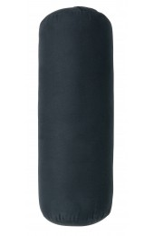 YOGA bolster, large, round, dark blue