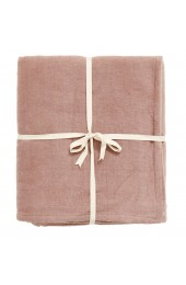 YOGA cotton blanket, rose