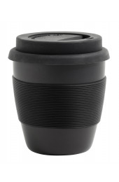 BAMBOO, mug to go, S, black, 0,10l