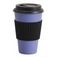 BAMBOO, mug to go, blue, 0,33l