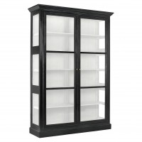CLASSIC cabinet, double, black