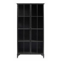 DOWNTOWN iron cabinet, black