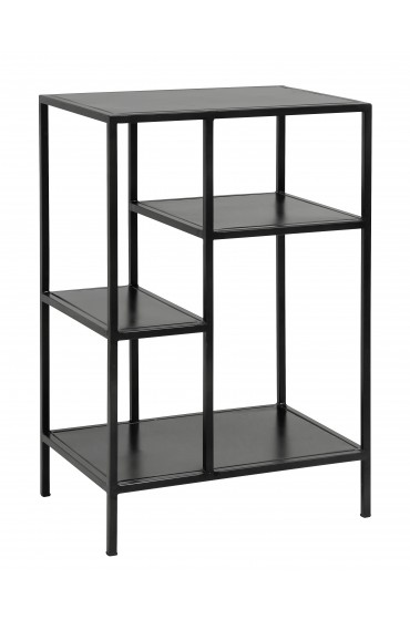 Display rack, small, black iron