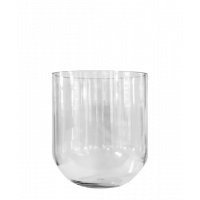 Simple Glass Vase small - clear