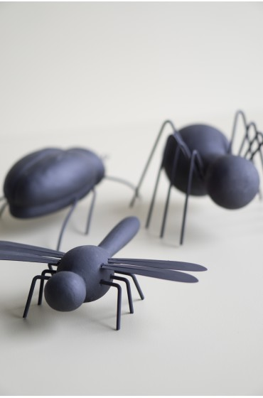 Concrete Bugs - Black Spider